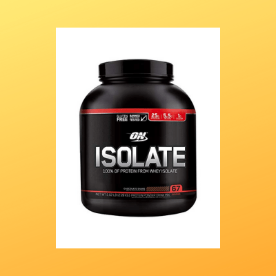optimum nutrition whey isolate