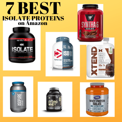 7 Best Tasting Isolate Protein Powders on Amazon