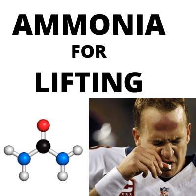 Ammonia for Lifting – The Only Thing You Should Be Sniffing