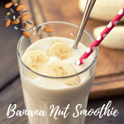 Banana Nut Protein Smoothie – Ready in Less Than 5 Minutes